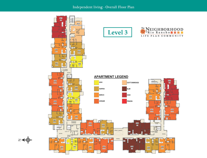 Level 3 Community Map