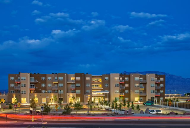 Night View of Neighborhood Rio Rancho