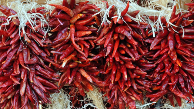 Red Chile Drying