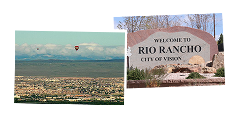 Rio Rancho City Welcome Sign